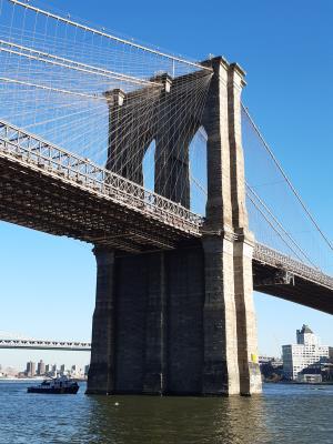 Brooklyn Bridge. Iconisch mooi.