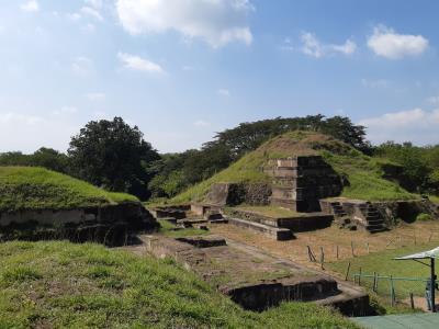 Archeologische Maya-site 'San Andrés'