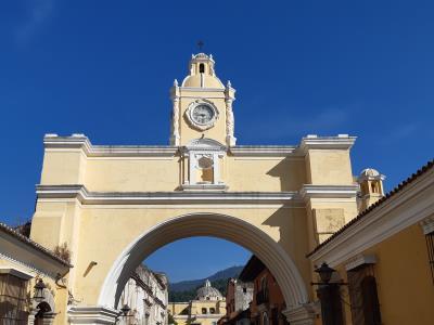 'El Arco de Santa Catalina', iconisch voor Antigua.