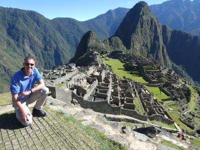 Uhmm, tja. Weer bij de Machu Picchu. Blijft supermooi ook deze tweede keer.