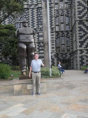 Een van de vele beelden van Botero.
