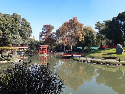 Japanse tuinen, middenin Buenos Aires.
