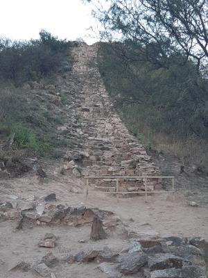 El Shinkal de Quimivil. Inca ruines vlakbij Belén.