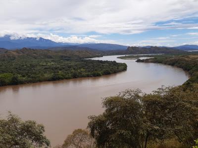Rio Magdalena, zal nog veel gezien worden de komende dagen.
